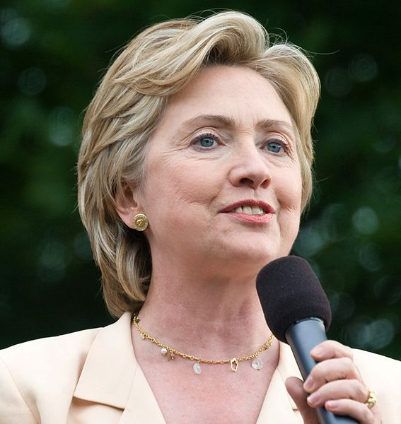 Former Secretary of State Hillary Clinton urged not to increase Iran sanctions in a letter to Congress. Credit: Wikimedia Commons.