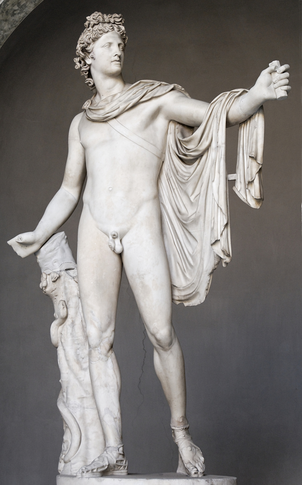 An Apollo statue. Credit: Marie-Lan Nguyen via Wikimedia Commons.