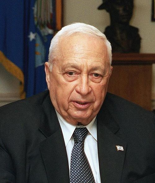 Ariel Sharon. Credit: Wikimedia Commons.