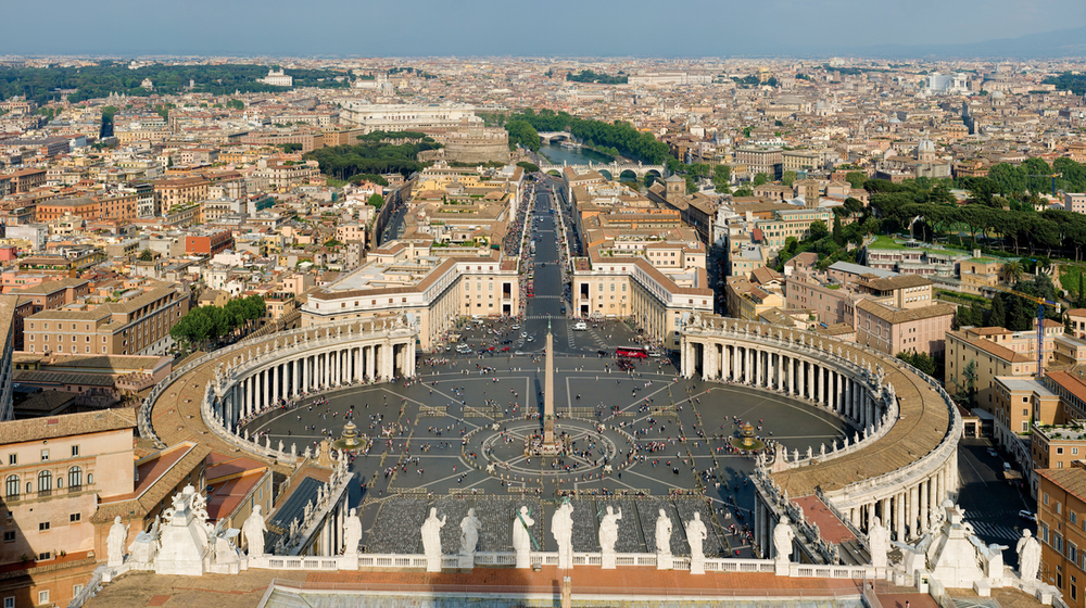 Vatican City. Credit: Wikimedia Commons.
