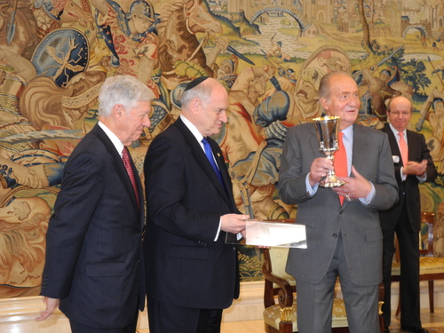 Image result for king juan carlos and jews