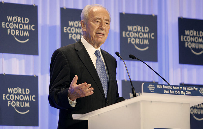 Israeli President Shimon Peres. Credit: World Economic Forum.