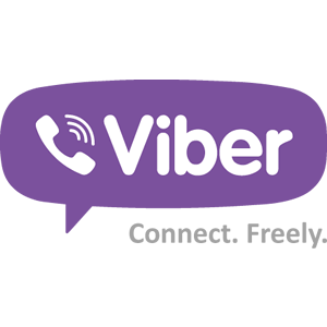 The Viber logo. Credit: Wikimedia Commons.