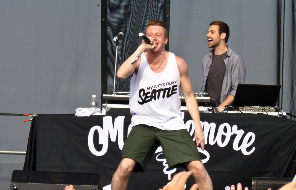 Click photo to download. Caption: Macklemore, pictured, makes the JNS.org Passover pop playlist. Credit: Christopher Dube via Wikimedia Commons.