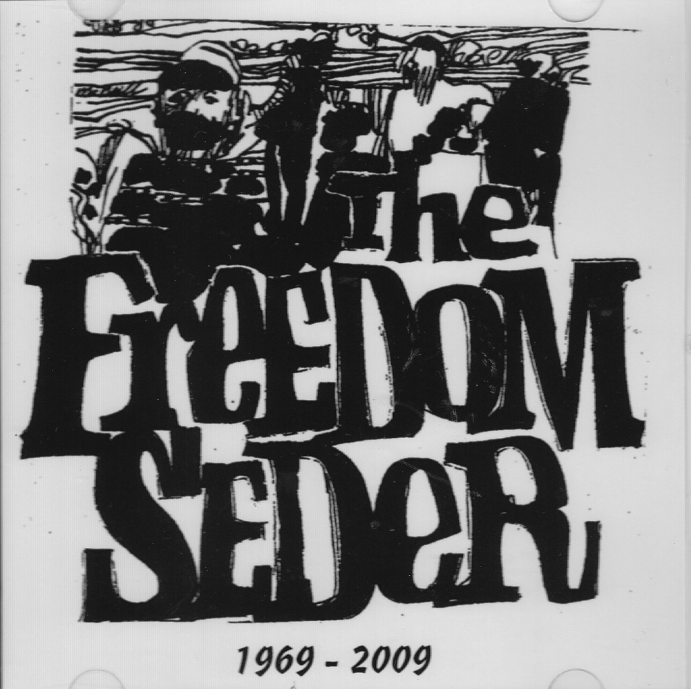 "Click photo to download. Caption: The original cover of ""The Freedom Seder,"" a haggadah by Rabbi Arthur Waskow. Credit: Courtesy Rabbi Arthur Waskow."