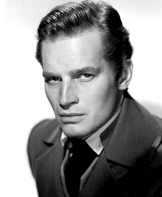 "Click photo to download. Caption: Charlton Heston, pictured, starred in biblical epic films including ""The Robe"" (1953), the Passover-related ""The Ten Commandments"" (1956), ""Ben-Hur"" (1959), and ""The Greatest Story Ever Told"" (1965). Credit: 20th Century Fox Studios via Wikimedia Commons."