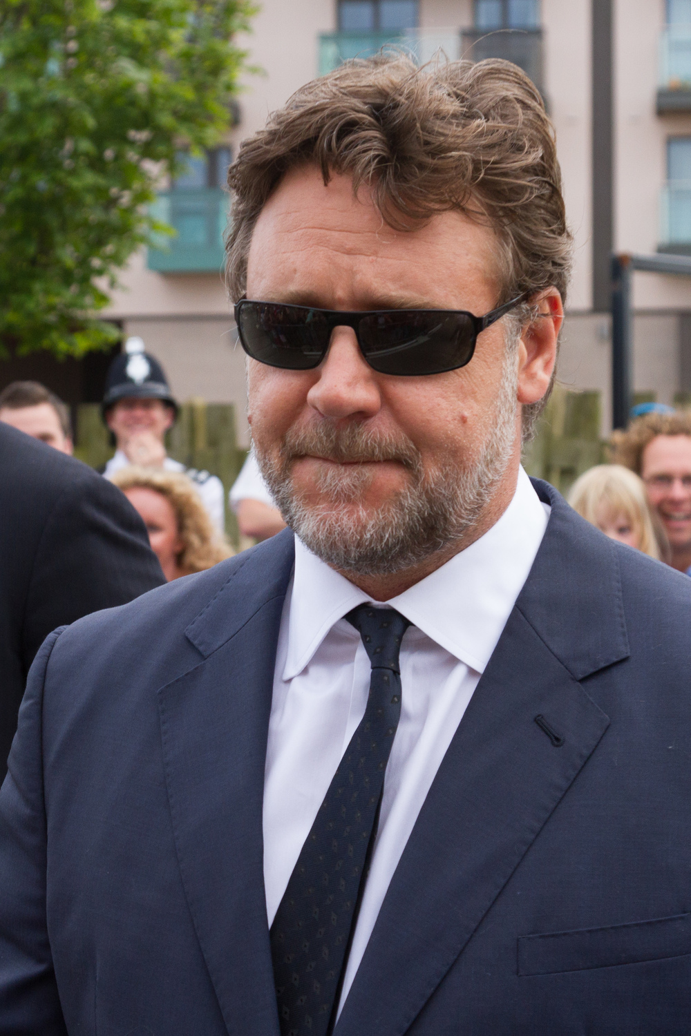 "Click photo to download. Caption: Russell Crowe, pictured, will star in the biblical epic film ""Noah,"" to be released in March. Credit: Danrok via Wikimedia Commons."