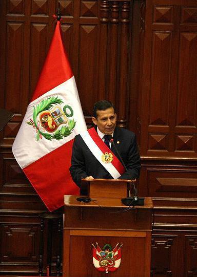 Peruvian President Ollanta Humala. Credit: Wikimedia Commons.
