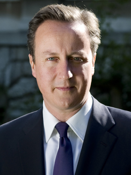 British Prime Minister David Cameron. Credit: Wikimedia Commons.