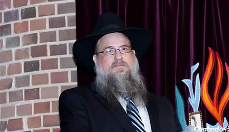 The regional director of Chabad-Lubavitch of Illinois, Rabbi Daniel Moscowitz. Credit: Chabad.org.