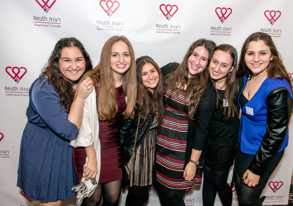 Click photo to download. Caption: Young volunteers for Reuth Medical Center of Tel Aviv. Credit: Reuth.