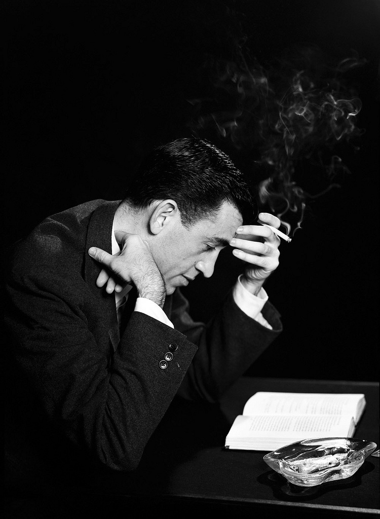 Click photo to download. Caption: J.D. Salinger. Credit: Courtesy of Kenneth Slawenski.