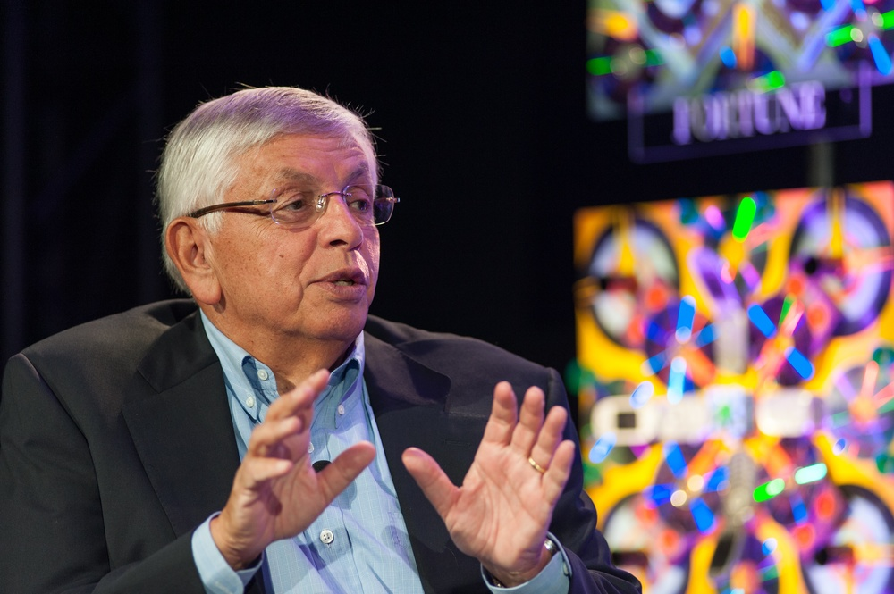 Click photo to download. Caption: Former NBA commissioner David Stern. Credit: Fortune Live Media via Wikimedia Commons.
