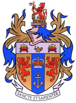 The crest of King's College. Credit: Wikimedia Commons.