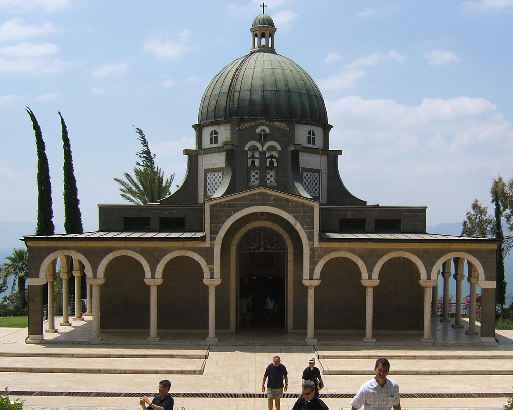 The Church of the Beatitudes, a Catholic church on the northern coast of the Sea of Galilee in Israel. Credit: Antonio Barluzzi.
