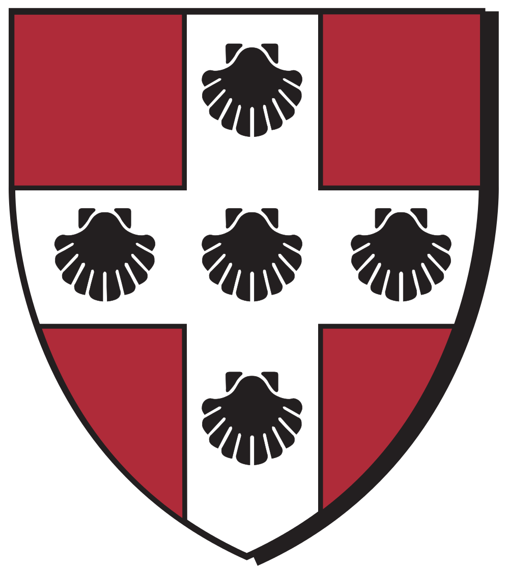 The Wesleyan University shield. Credit: Wikimedia Commons.