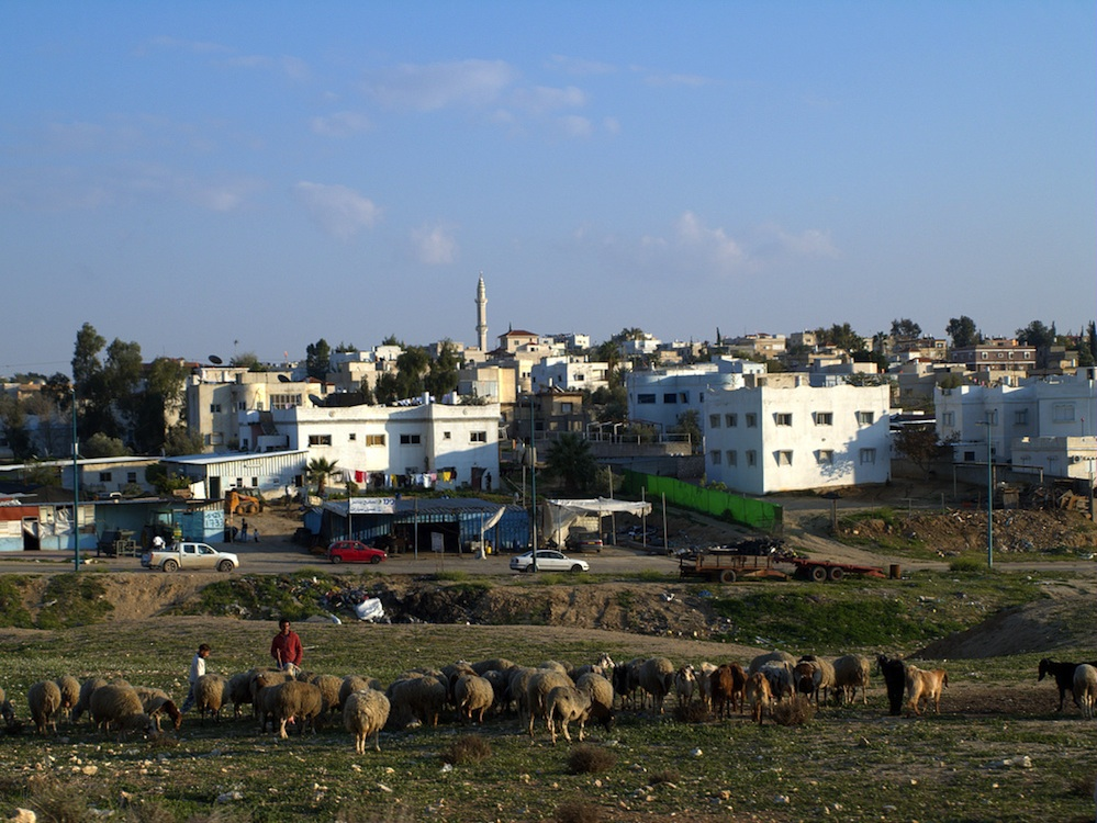 Click photo to download. Caption: Rahat, the largest Bedouin city in Israel. Credit: David Shankbone via Wikimedia Commons.