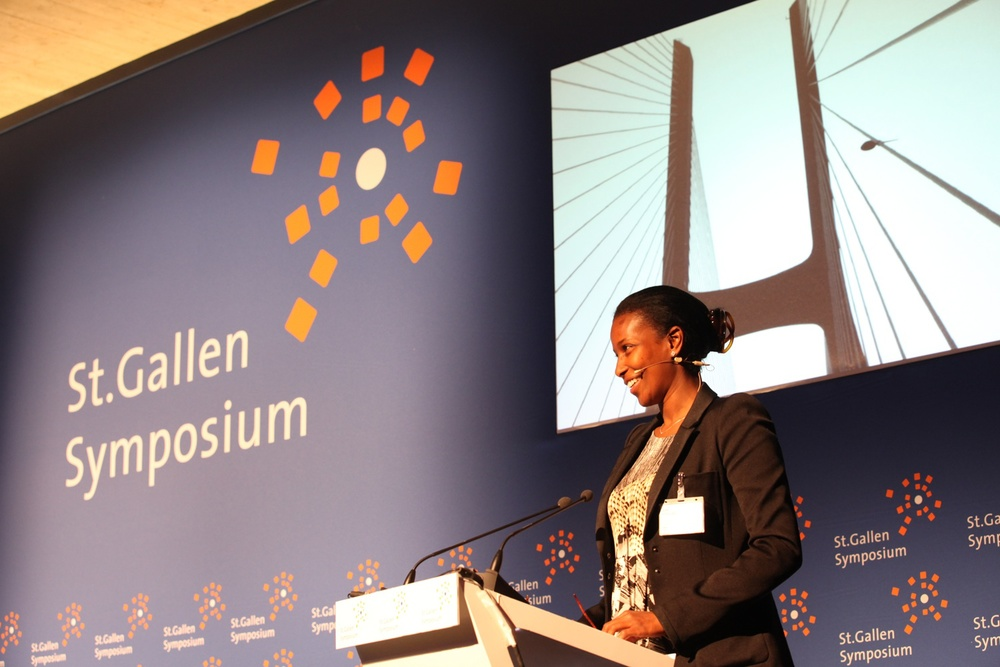 Click photo to download. Caption: Ayaan Hirsi Ali speaks at the May 2011 St. Gallen Symposium at the University of St. Gallen in Switzerland. Credit: Source International Students' Committee via Wikimedia Commons.
