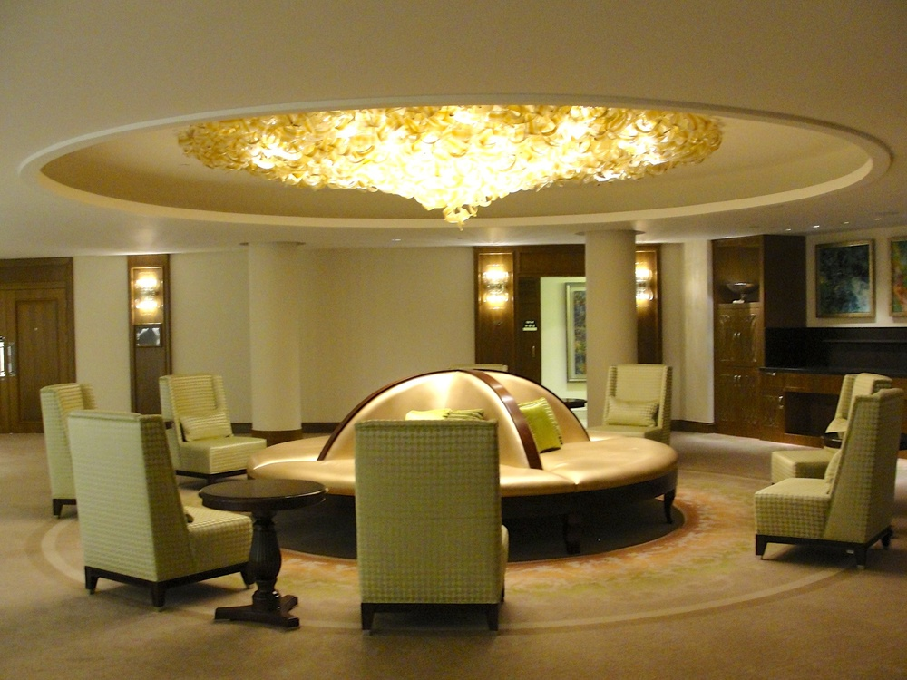 Click photo to download. Caption: Inside the new  Waldorf Astoria Jerusalem  hotel. Credit: Judy Lash Balint.