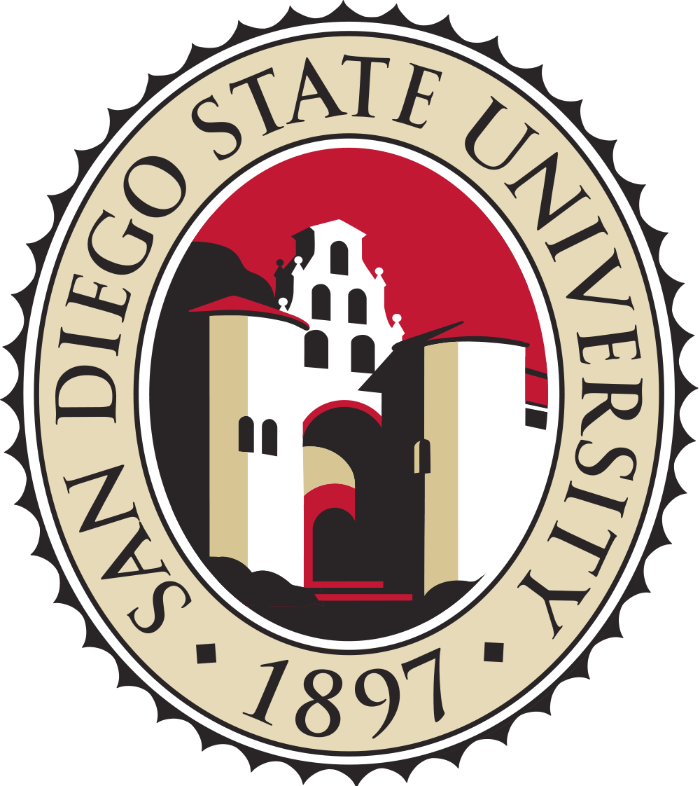 The seal of San Diego State University, whose student government voted down an Israel divestment resolution 16-3. Credit: Wikimedia Commons.