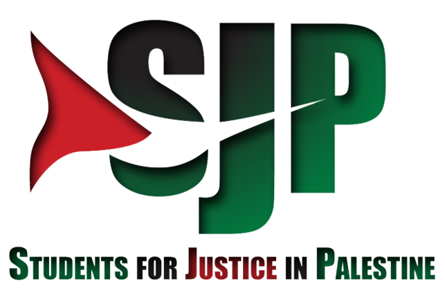 The Students for Justice in Palestine logo. Credit: Wikimedia Commons.