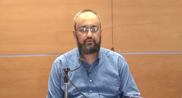 Swiss cleric Hani Ramadan. Credit: YouTube.