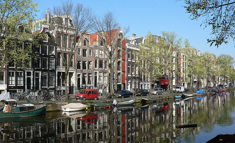 Amsterdam. Credit: Wikimedia Commons.