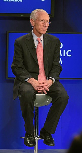 Stanley Fischer. Credit: Wikimedia Commons.