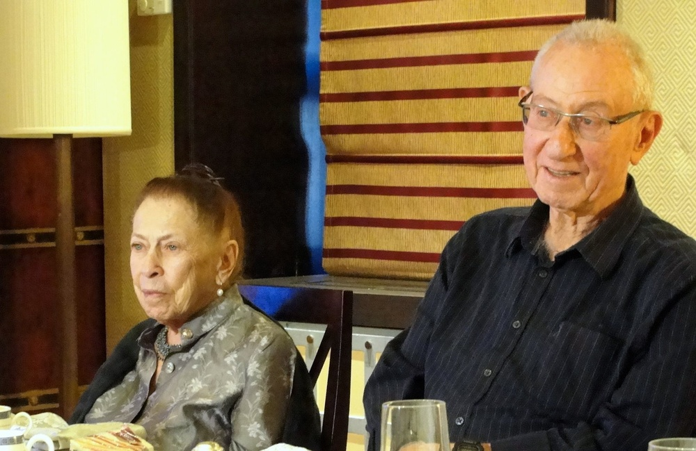 Click photo to download. Caption: Israel Defense Forces Maj. Gen. (retired) Elad Peled and Dr. Zimra Peled, Palmach veterans.For Peled and hundreds of others who played a pivotal role in the creation of the state of Israel, the Toldot Yisrael initiative provides peace of mind that their stories will not be forgotten.Credit: Judy Lash Balint.