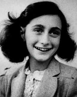 Anne Frank. Credit: Wikimedia Commons.
