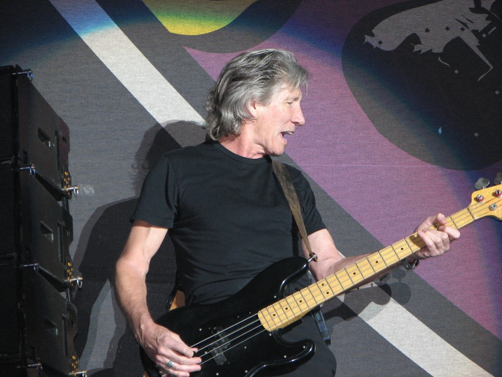 Pink Floyd member Roger Waters. Credit: Photo by Jethro via Wikimedia Commons.