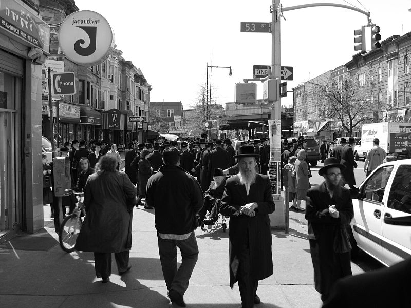 Boro Park, Brooklyn. Credit: Wikimedia Commons.