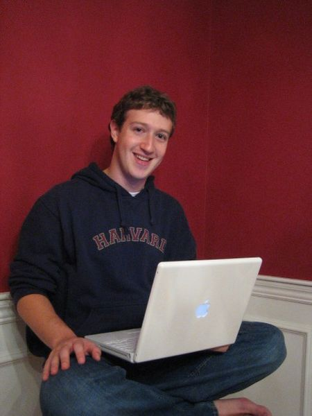 Facebook founder and CEO Mark Zuckerberg. Credit: Wikimedia Commons.