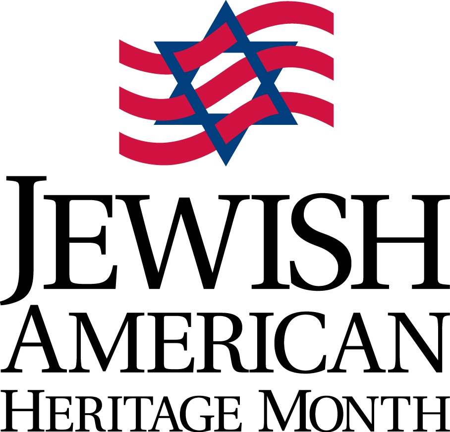 Click photo to download. Caption: The Jewish American Heritage Month logo. Credit: Jewish American Heritage Month.