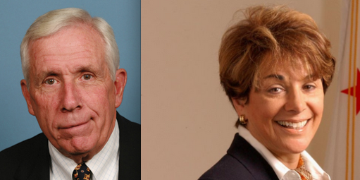 A grassroots campaign launched by  U.S. Reps. Frank Wolf (R-VA) and Anna Eshoo (D-CA), pictured, calls for the protection of Mideast Christians. Credit: U.S. Congress.