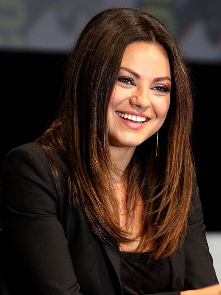 Mila Kunis was one of three Jewish women selected in the top 10 of FHM Magazine's sexiest women list. Scarlett Johansson and model Emily Ratajkowski also made the cut. Credit: Wikimedia Commons.