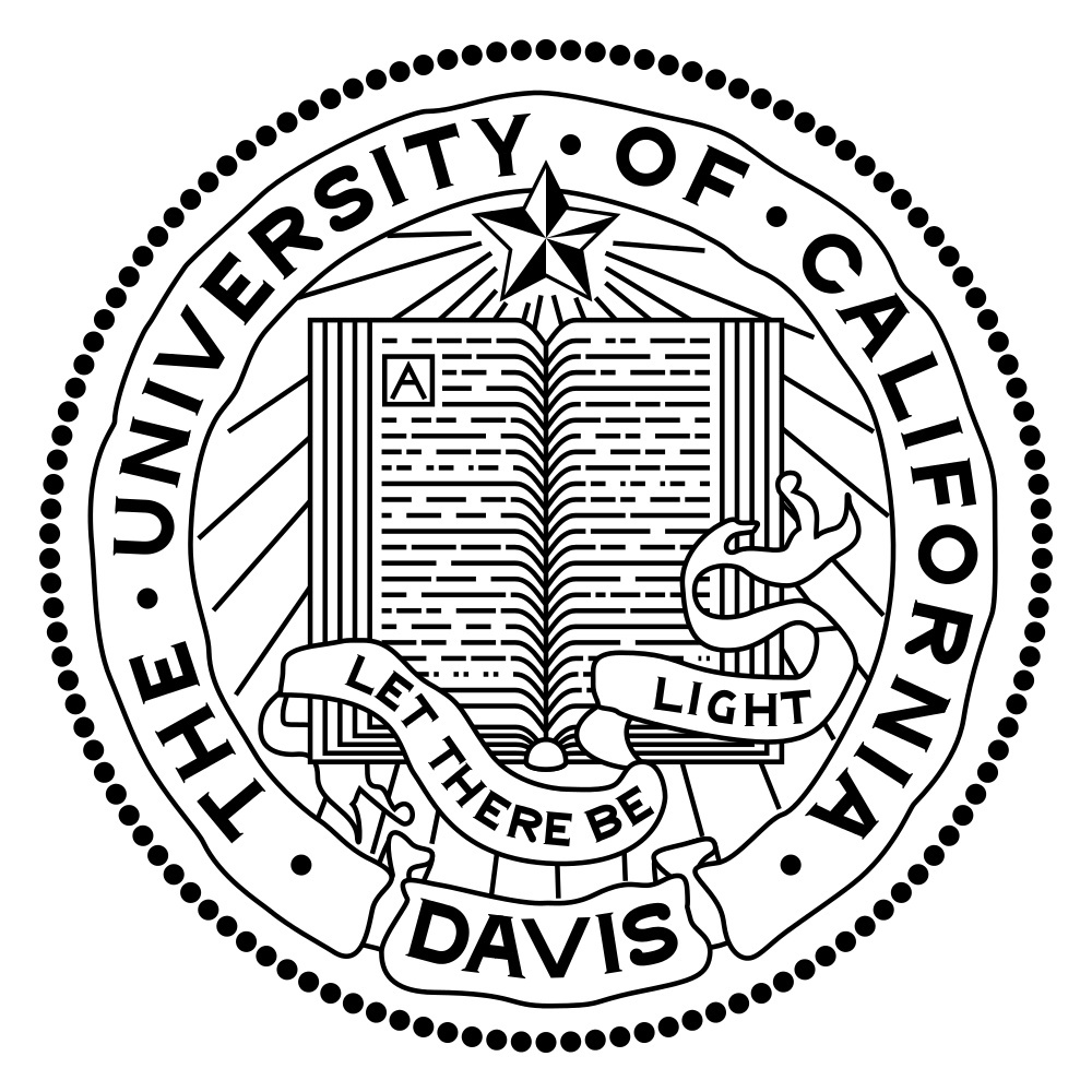 The University of California, Davis seal. Credit: Wikimedia Commons.