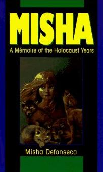 The cover of Misha Defonseca's fake Holocaust memoir. Credit: Amazon.