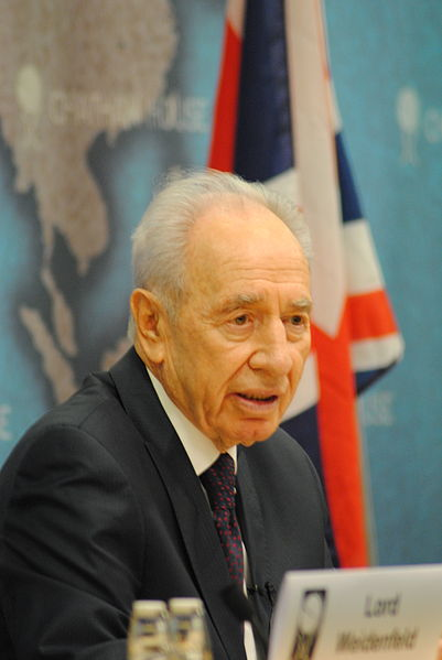 Israeli President Shimon Peres, pictured, sent a letter offering to help Turkey deal with the Tuesday coal mine explosion that left hundreds of miners dead and more trapped. Credit: Wikimedia Commons.