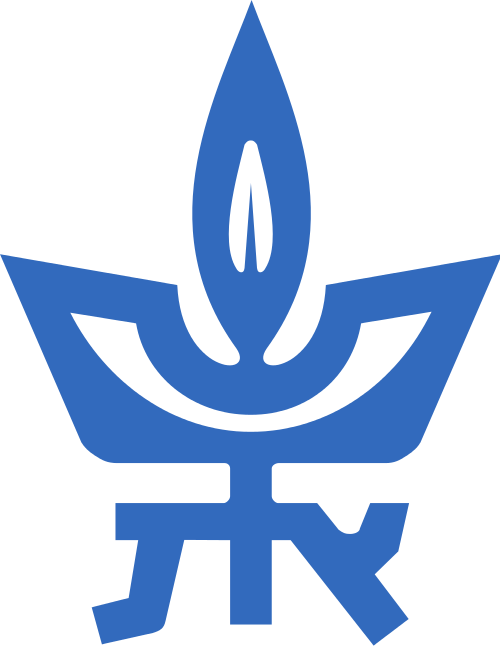The logo of Tel Aviv University, whose master's degree film student Hadas Ayalon is one of three winners in the foreign film category of the Academy of Motion Picture Arts and Sciences' 41st Student Academy Awards competition. Credit: Wikimedia Commons.