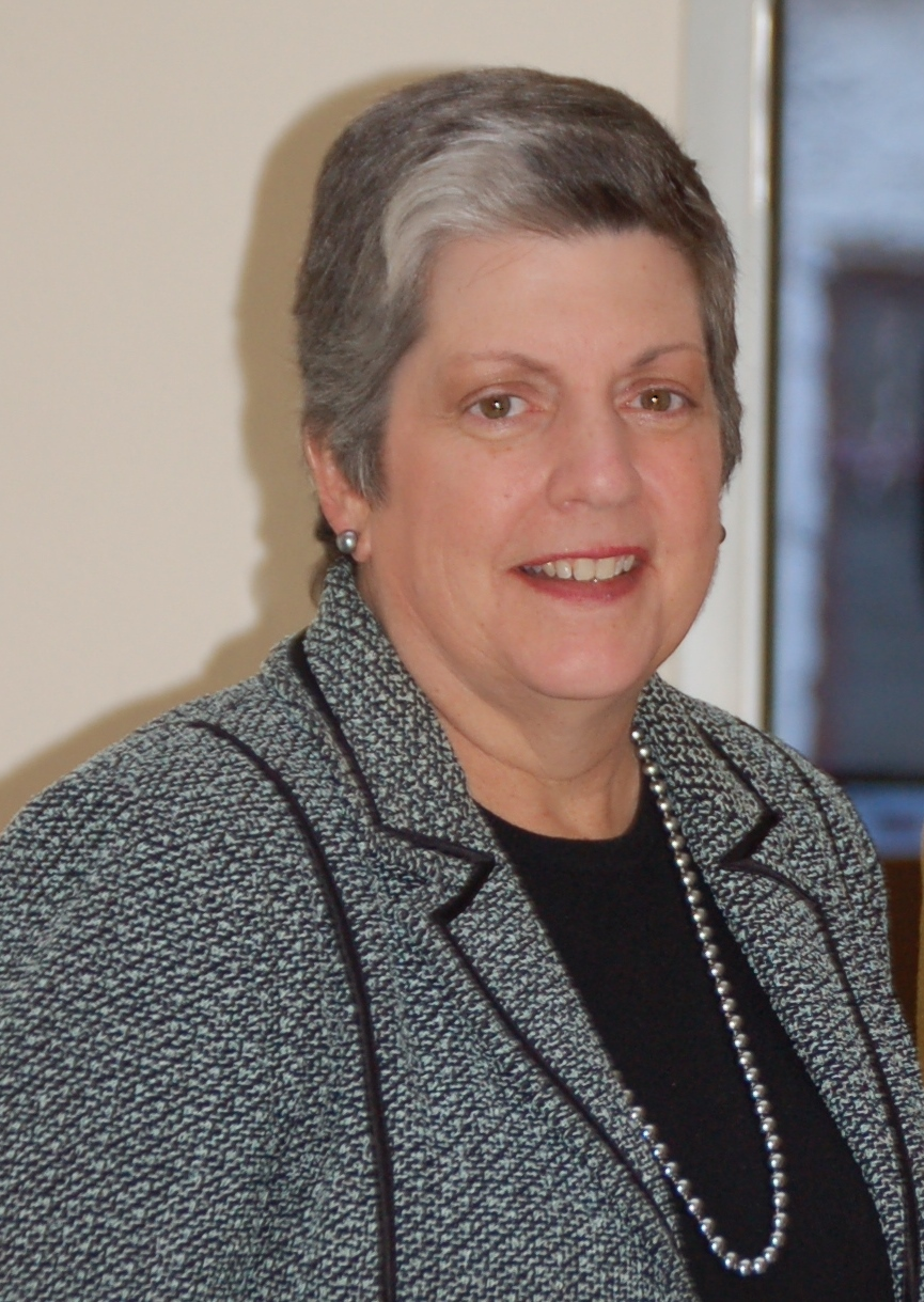 Former Secretary of Homeland Security and current University of California President Janet Napolitano. Credit: U.S. Department of Homeland Security.