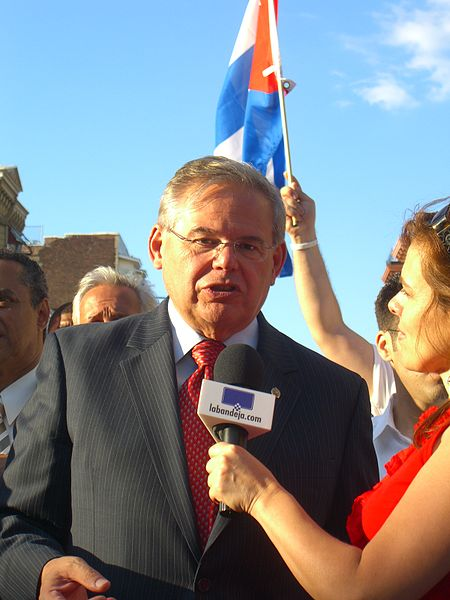 The chairman of the Senate Foreign Relations Committee, Sen. Bob Menendez (D-NJ). Credit: Wikimedia Commons.