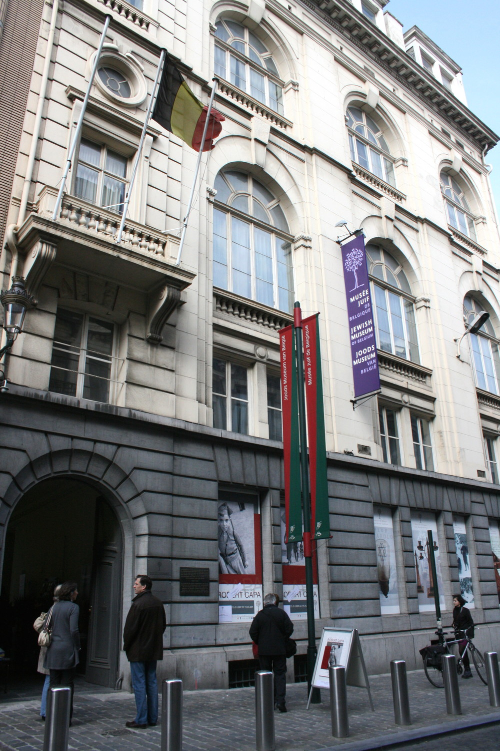 Thee people were shot and killed at the Jewish Museum of Belgium in Brussels (pictured) on Saturday. Credit: Wikimedia Commons.