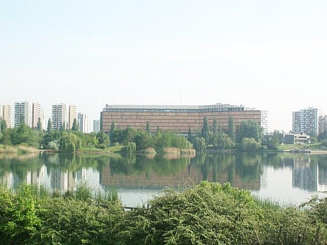 The Paris suburb ofCréteil. Credit: Wikimedia Commons.