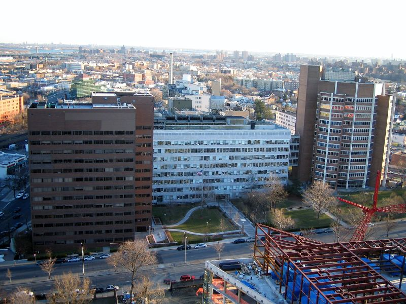 The Albert Einstein College of Medicine buildings in New York City. Credit: Wikimedia Commons.