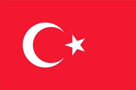The Turkish government (flag pictured) has condemned for the shooting at the Jewish Museum of Belgium in Brussels.