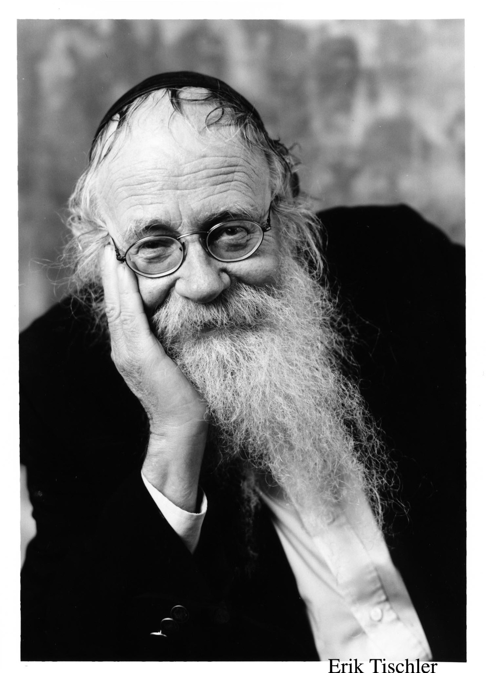 Click photo to download. Caption: Rabbi Adin Even-Israel Steinsaltz. Credit: Erik Tischler.