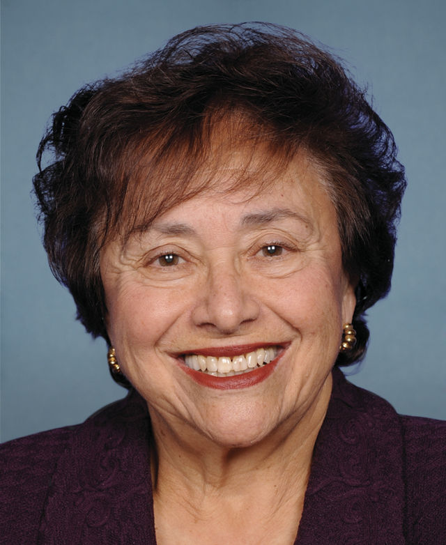 "U.S. Rep. Nita Lowey (D-NY), pictured, faces a ""leadership moment"" over American funding of the Palestinian Authority, writes Edwin Black. Credit: U.S. Congress."