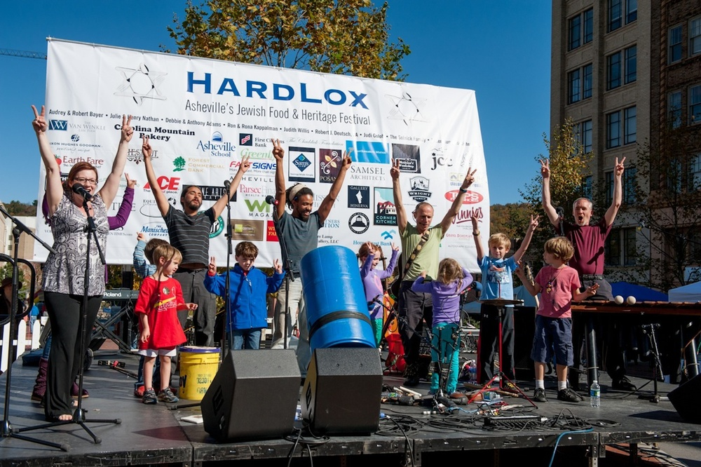 Click photo to download. Caption: The HardLox Jewish Food and Heritage Festival in Asheville, N.C. Credit: Courtesy Marty Gillen.