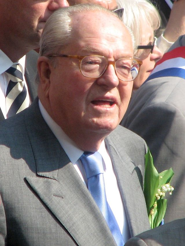 The Founder of France's extreme right wing party the National Front Jean-Marie Le Pen. Credit: Wikimedia Commons.